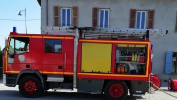 Intervention des pompiers