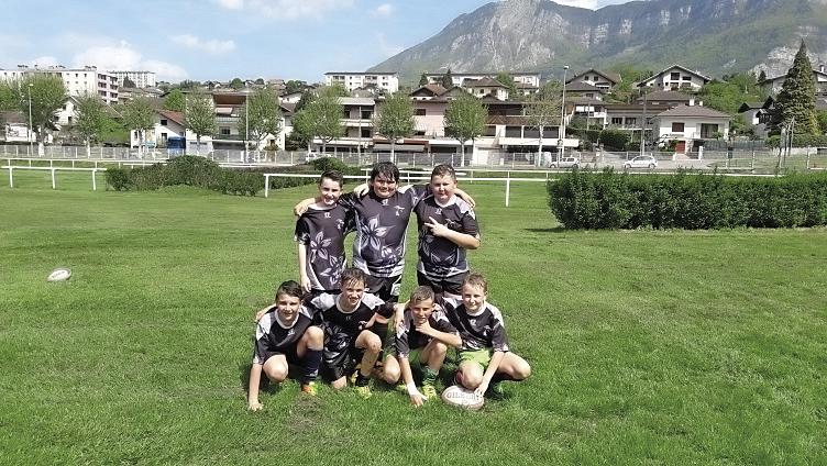 Équipe de rugby Collège Jeanne d'Arc Pont de Beauvoisin