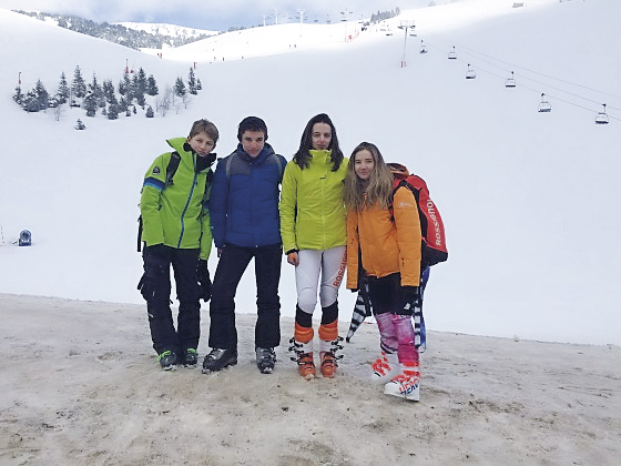 Séjour au ski Collège Jeanne d'Arc Pont de Beauvoisin