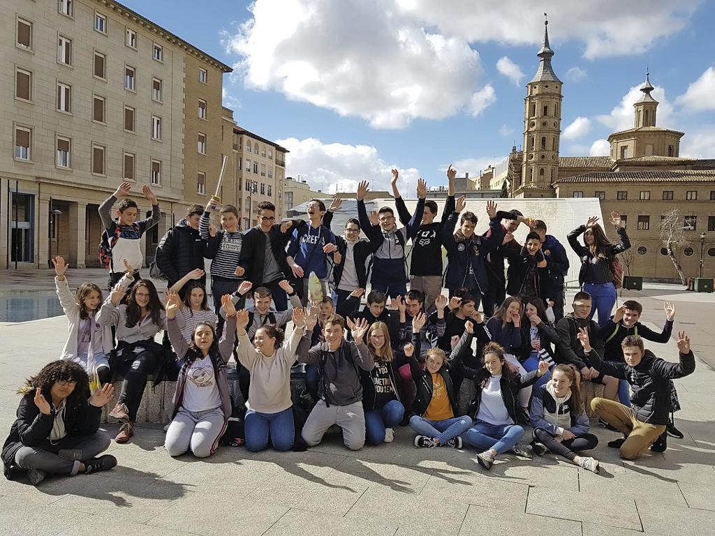 Les élèves du Collège Jeanne d'Arc en voyage à Saragosse