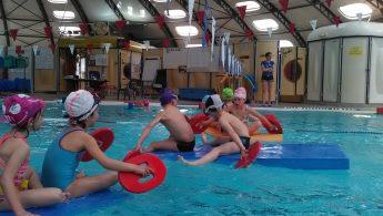 Dernière séance de piscine !