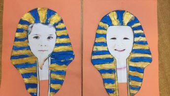 masques TOUTANKHAMON