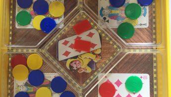 le nain jaune , un jeu en famille pour apprendre à compter!
