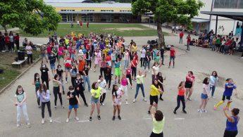 Flashmob de fin d'année